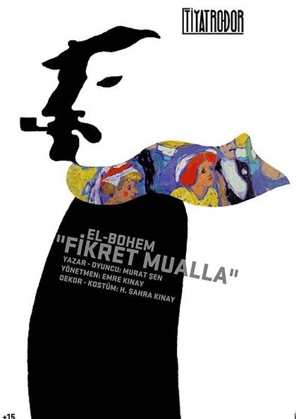 El - Bohem Fikret Mualla Tiyatro Oyunu Etkinlik Afişi