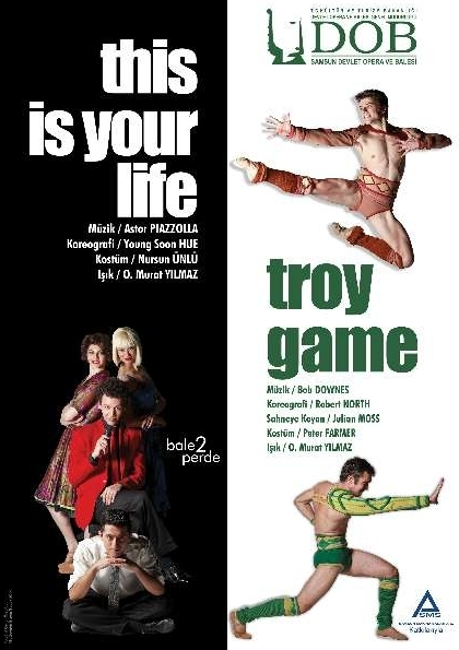 Troy Game - This is Your Life Afişi