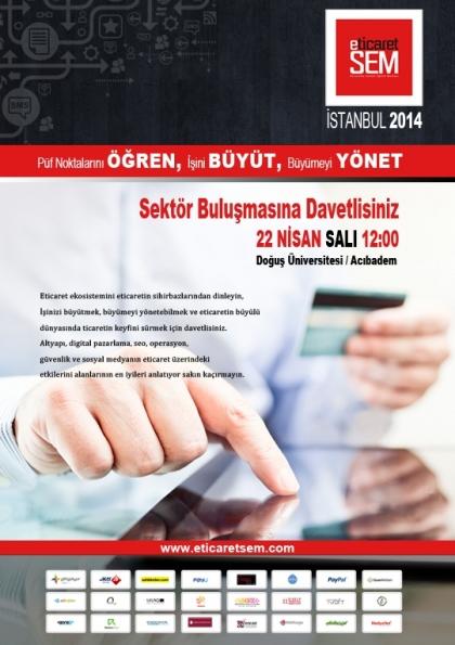 Eticaret SEM 2014 Etkinlik Afişi