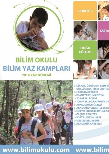 Bilim Yaz Kampı 2014 Etkinlik Afişi