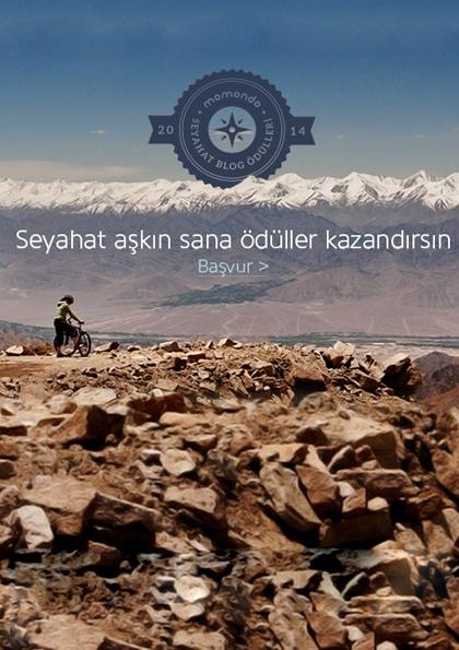 Momondo Türkiye'nin En İyi Seyahat Blog Yazarını Arıyor Etkinlik Afişi