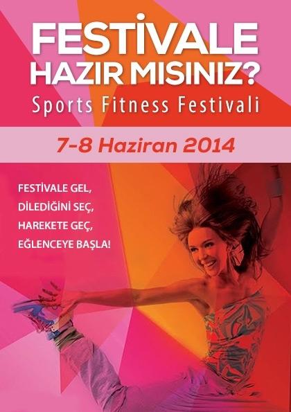 Sports & Fitness Festival Etkinlik Afişi