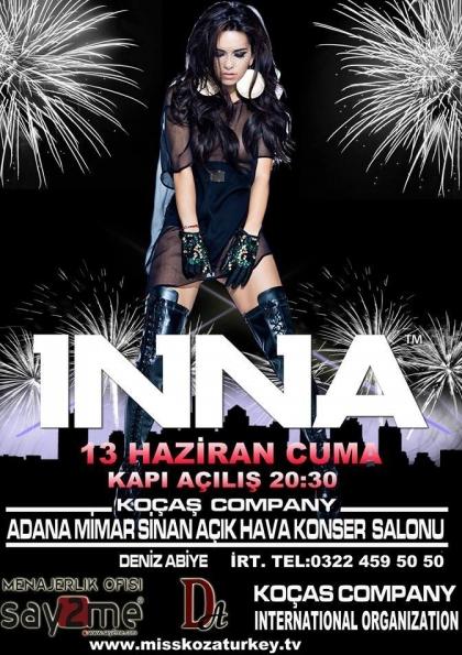 Adana İnna Konseri Etkinlik Afişi