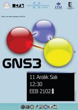 GNS3 Eğitimi Etkinlik Afişi