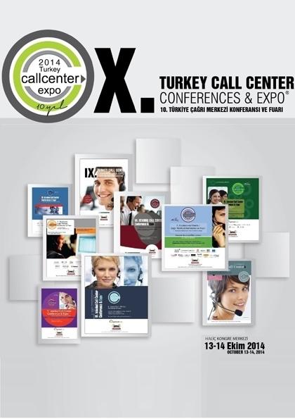 10. Türkiye Çağrı Merkezi Konferansı ve Fuarı Etkinlik Afişi