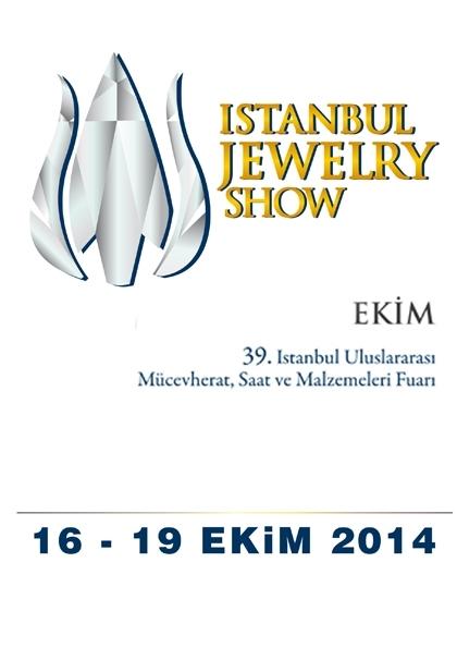 39. İstanbul Uluslararası Mücevherat, Saat ve Malzemeleri Fuarı Etkinlik Afişi