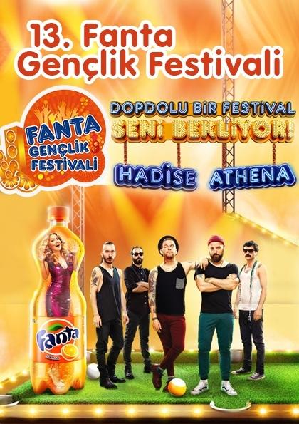 13. Fanta Gençlik Festivali 2014 Afişi