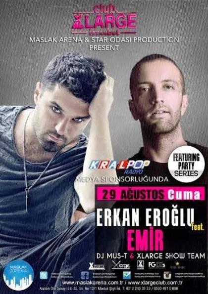 Emir & DJ Erkan Eroğlu Feat Party