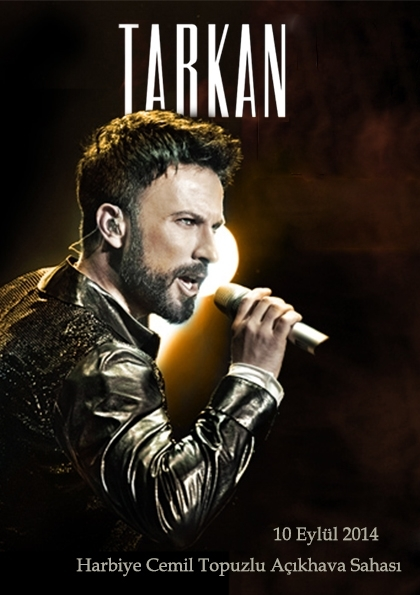 Tarkan 10 Eylül Konseri Etkinlik Afişi