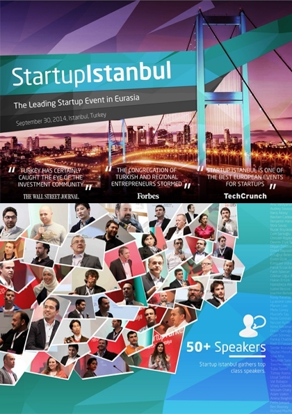 Startup İstanbul Etkinlik Afişi