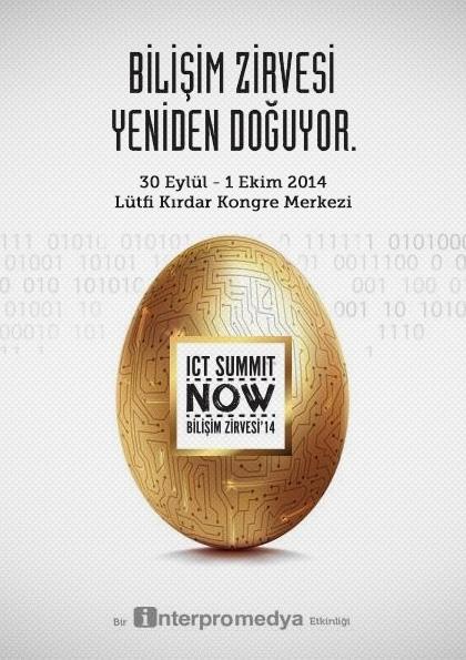 ICT Summit Bilişim Zirvesi Etkinlik Afişi