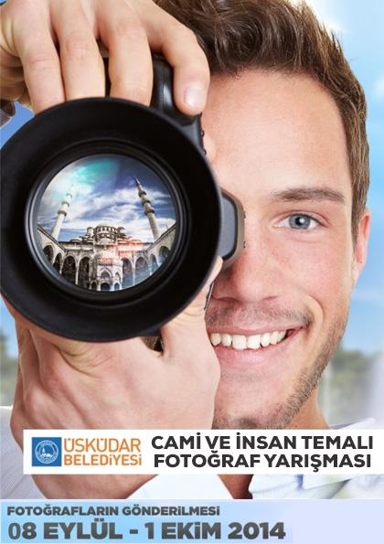 Cami ve İnsan Temalı Fotoğraf Yarışması Etkinlik Afişi