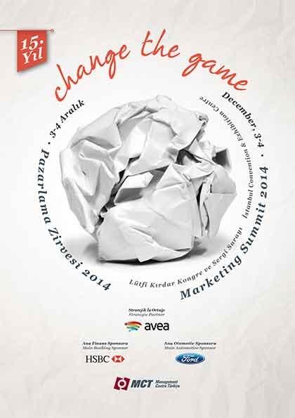 Pazarlama Zirvesi 2014 Etkinlik Afişi