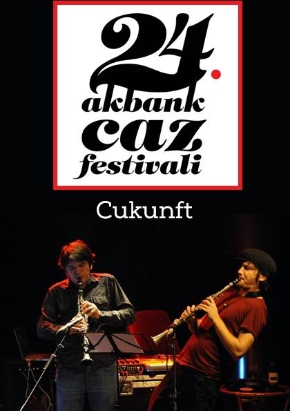 24. Akbank Caz Festivali Kampüste Caz: Cukunft Etkinlik Afişi