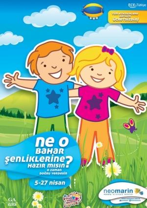 Neomarin Çocuk Kültür Merkezi'nde Çiçek ve Doğa' Etkinlikleri 48