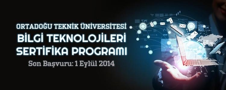 ODTÜ Bilgi Teknolojileri Sertifika Programı