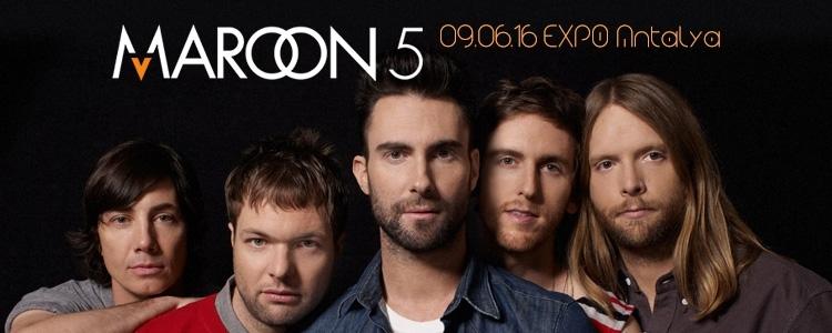 Maroon 5 Antalya Konseri